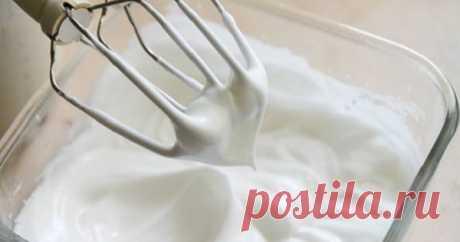 Как приготовить безупречные взбитые белки? — Вкусные рецепты