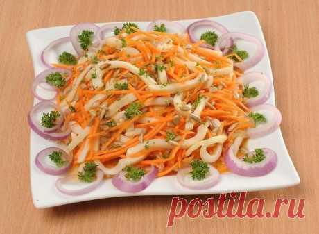 Кальмары по-корейски-как морковка, только гораздо вкуснее