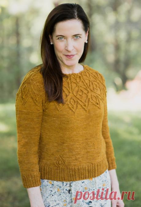 Вязаный пуловер Remi | ДОМОСЕДКА