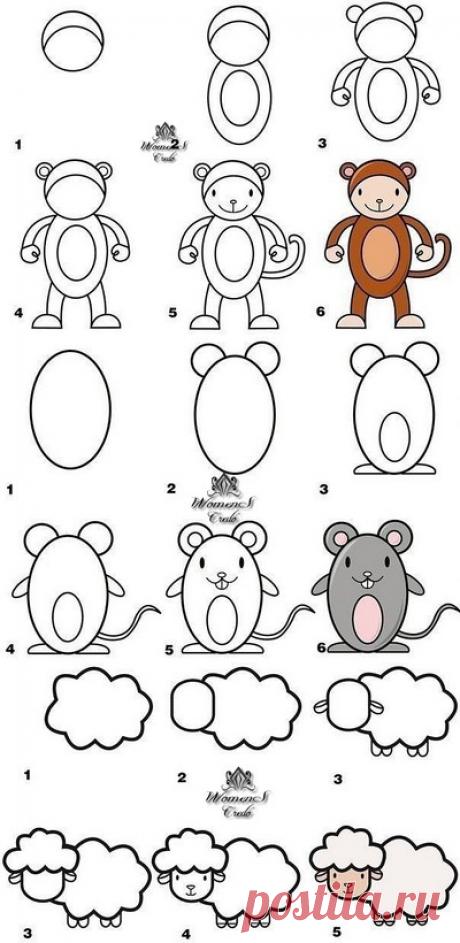 Рисуем с детьми | Женское кредо