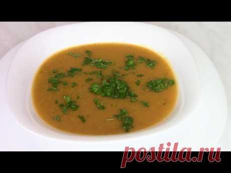 Суп-пюре с кабачком - быстро и вкусно!