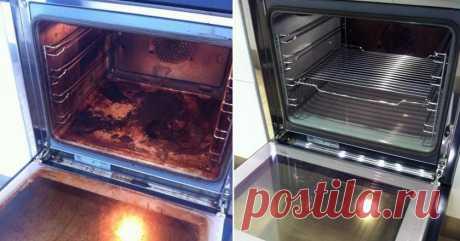 Замечательное средство для тех, кто ненавидит чистить духовку. Все намного проще, чем ты думаешь!
