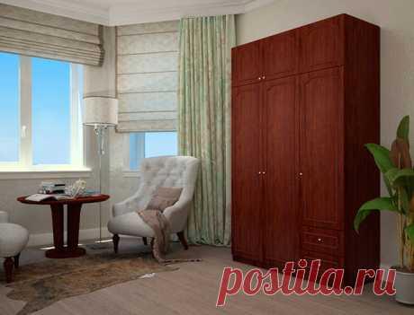 Трёхстворчатый шкаф дешево | ФМ Мебель