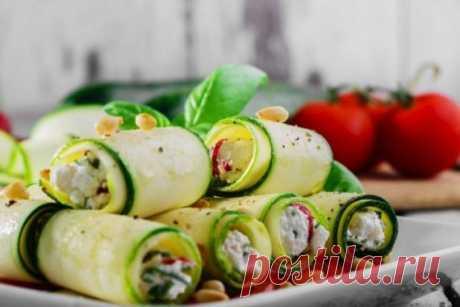 Вегетарианские роллы со сливочным сыром. | О вкусной еде