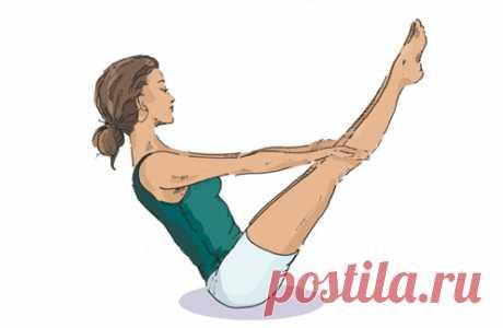 Йога: 5 простых упражнений для пресса - Woman's Day