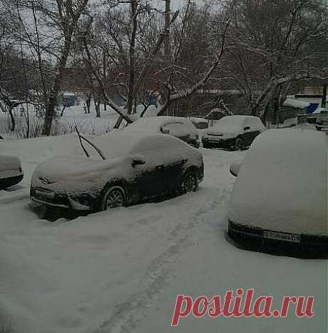 Снегопад, снегопад ...