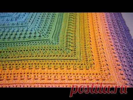 Шаль ОЛИВИЯ крючком, бактус крючком | Crochet Shawl