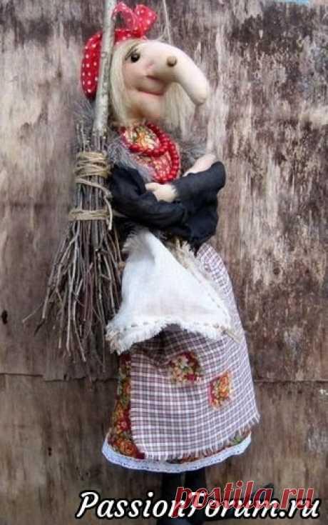 Кукольная авантюра - 2. Шьем Бабу Ягу. Еще выкройки