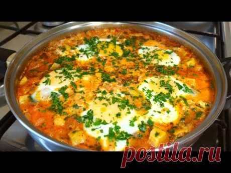 Королевский Завтрак из Кабачков! Божественное Блюдо Рецепт от Аллы!
