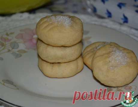 """Творожное печенье """"Ванильное яблочко"""" – кулинарный рецепт"""