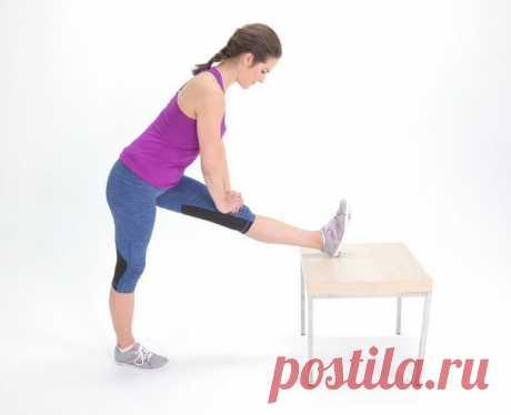 Растяжка для тех, кто много сидит  Задержитесь в каждом положении на 30-60 секунд!