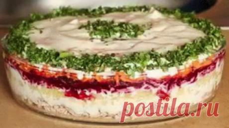 Новогодний вкуснейший салат «Корель». Понравится всем гостям. Проверено
