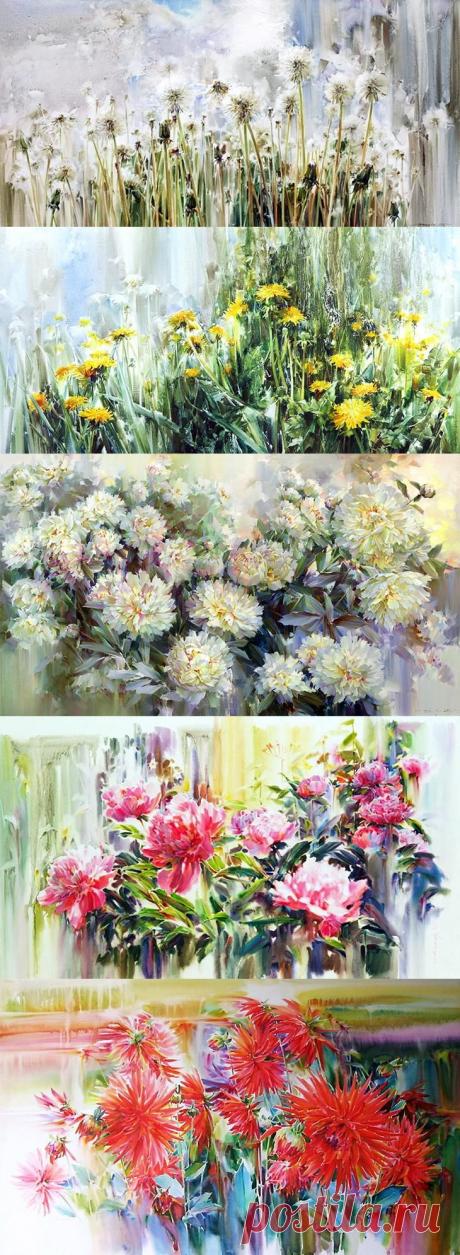 Симфония цветов от художника Олега Тимошина