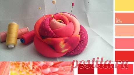 Большая Игольница Роза  будет красивым и необычным  подарком