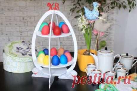 Fabricamos de la chapa de madera el soporte para los huevos de Pascua Hay muchas fiestas, que queremos encontrar, y un de principal es la fiesta primaveral — la Pascua. ¡Esta buena fiesta clara y lleva consigo la fe, la esperanza y el amor!