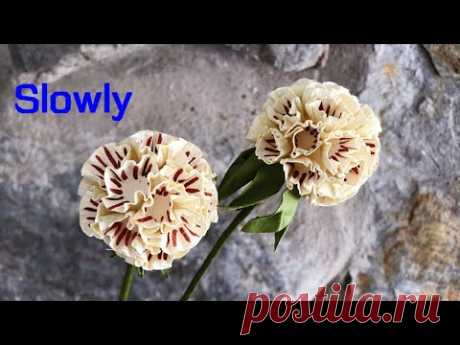 ABC TV | How To Make Easy Scabiosa Pods Paper Flower (Slowly) - Craft Tutorial