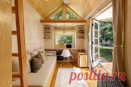 Чем меньше, тем лучше: экологичный домик площадью всего 13 кв. метров