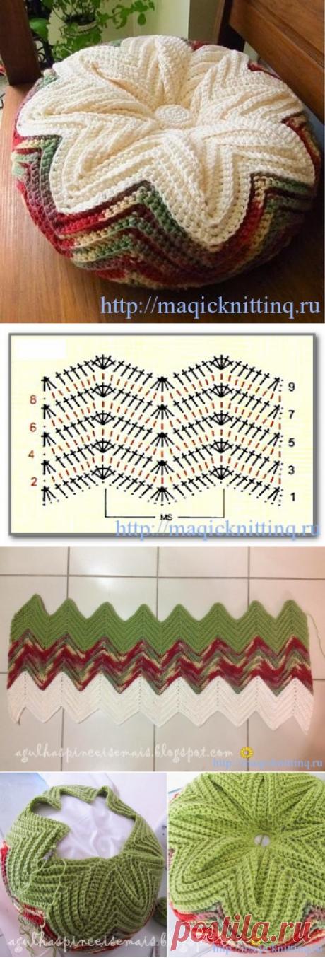 Подушки вязаные своими руками фото фото 175