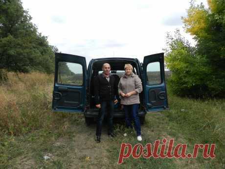 По дороге в Донецк.