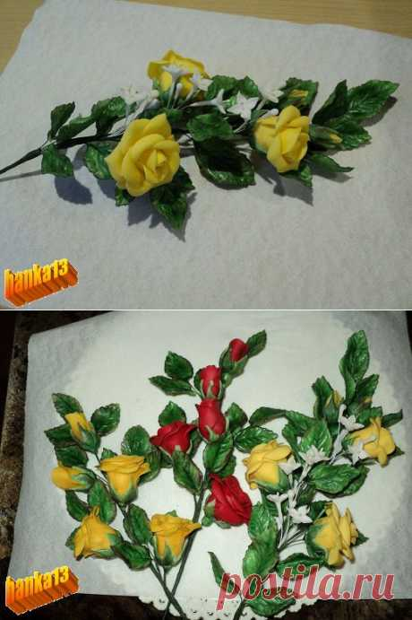 Лепим наикрасивейшие розы !.