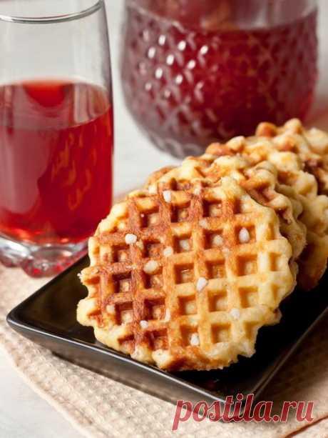 Рецепт льежских вафель 🔥 на Вкусном Блоге