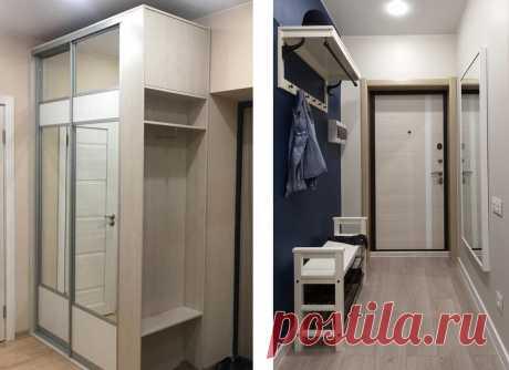 Маленькие прихожие в маленьких квартирах. 5 нюансов, которые все испортят или сделают их идеальными   Мебель своими руками   Яндекс Дзен