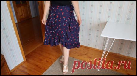 Невероятно женственная модель юбки - шьем всего за пару часов!.