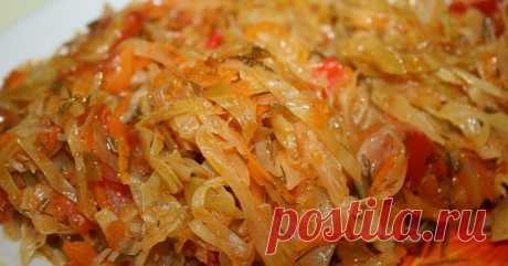 Тушеную капустуможно справедливо назвать одним из самых распространенных блюд славянской кухни. Для...