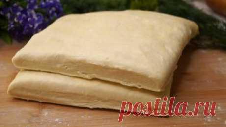 Готовлю Слоеное тесто теперь только так! Слоистое и готовится за 10 минут  Слоеное тесто быстрого приготовления. Не нужно ничего слоить, раскатывать, не нужно много движений. Просто все смешал поочередно и отправил в холодильник. Это чудесное тесто получается мягкое, хрустя…