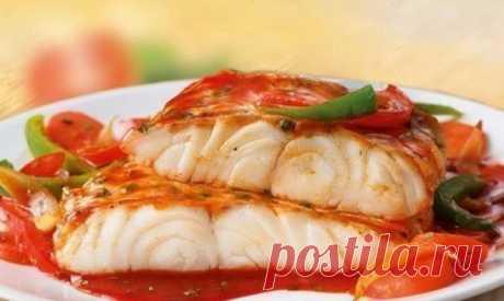 Полезный ужин: Рыба «по-французски» для самых любимых