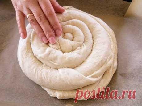 Смогут даже те, кто никогда не пек хлеб! Самый мягкий хлеб-улитка с хрустящей корочкой
