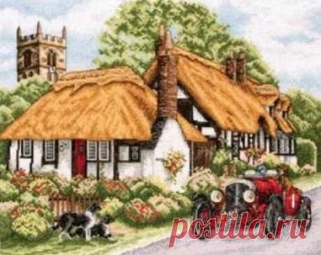 PCE869 Деревня Велфорд купить. Фото