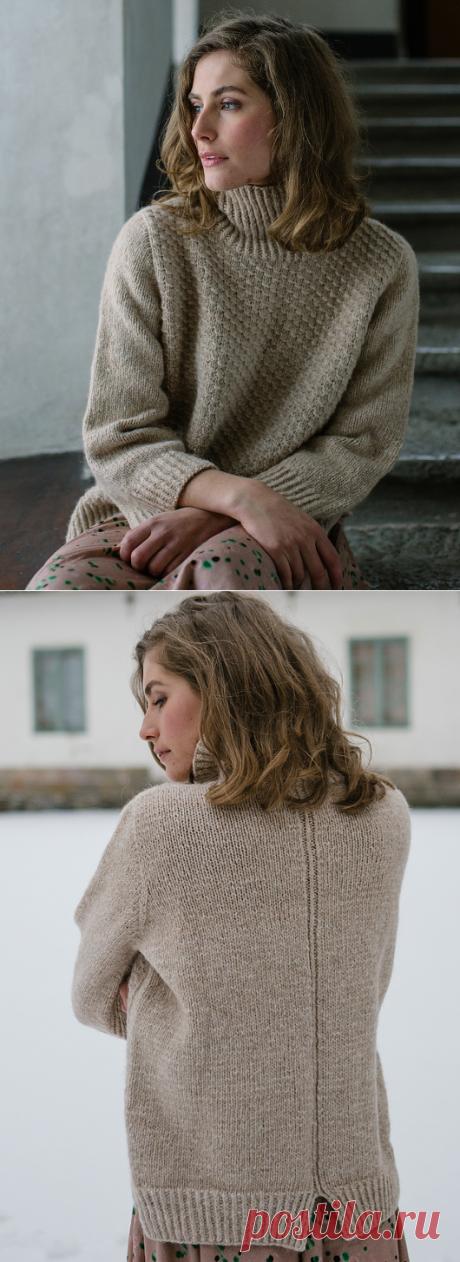 Вязаный свитер Lakeland | ДОМОСЕДКА