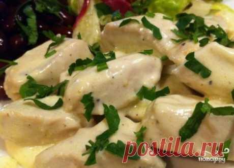 Индейка в сливочном соусе - пошаговый рецепт с фото на Повар.ру