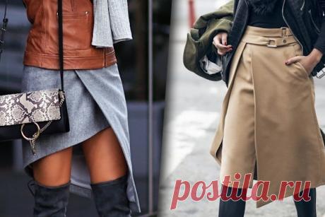 Забудьте о брюках: 27 модных образов 2018 с юбками на любой вкус Скорее откладывайте в сторону удобные джинсы, и пусть ваши руки не тянутся к очередной паре брюк.  Юбка – вот must have будущего года.  Всех цветов и фактур, длинные и короткие, с отделкой и гладкокрашеные. На любую фигуру найдется свой вариант, утверждают дизайнеры.  Фасоны и текстуры  Обяз