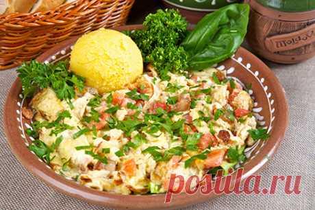 Завтрак крестьянина - Блюда из круп, муки, творога и яиц