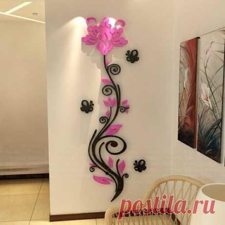 Интересные идеи декора стен — Сделай сам, идеи для творчества - DIY Ideas