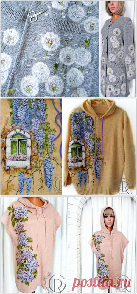 Одуванчики, которые меня покорили: изумительные вязаные вещи от GalaReva   Paradosik_Handmade   Яндекс Дзен