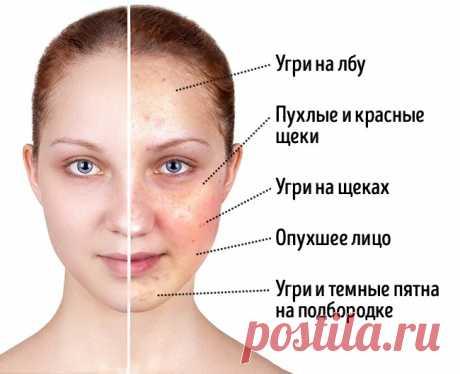 Результат на лицо: 4 продукта, которые влияют на то, как вы выглядите | Болтай