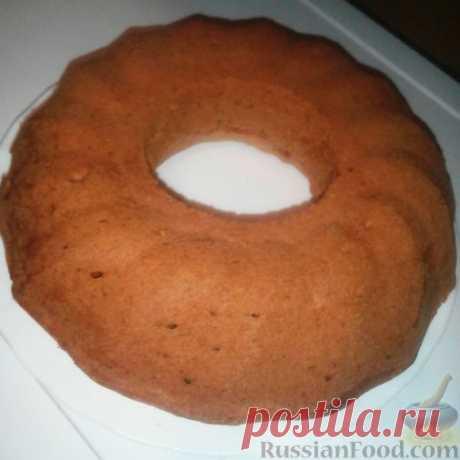 Рецепт: Молочный кекс без яиц на RussianFood.com