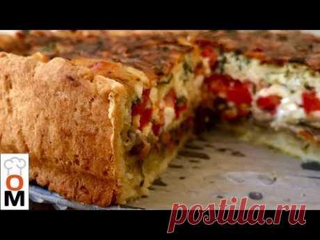 Пирог с Грибами, Он Просто Нереально Вкусный!!! - YouTube