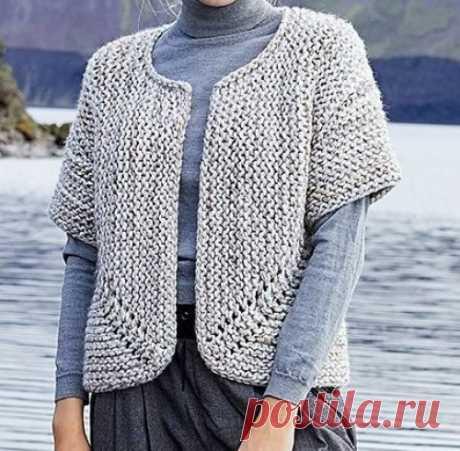 Beautiful Skills - Crochet Knitting Quilting : Jutka Cardigan - Free Pattern