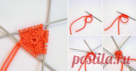 Мастер-класс смотреть онлайн: Набор петель крючком для кругового вязания на спицах
