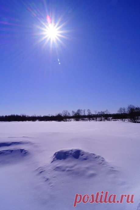 морозное солнце