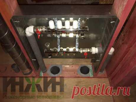 Монтаж отопления в каркасном доме, фото 816