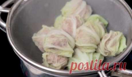 Мини-голубцы по-азиатски - пошаговый рецепт с фото на Повар.ру