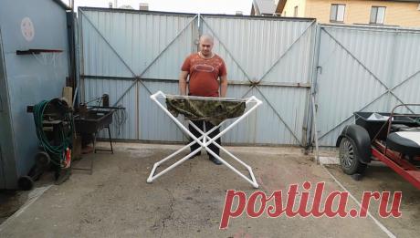 Сделал жене для дома полезную конструкцию из пластиковых труб, до сих пор благодарит | AVTO CLASS | Яндекс Дзен