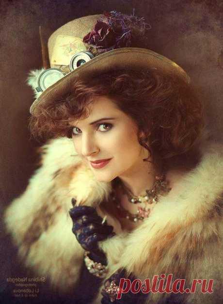 Стимпанк — стиль в современном искусстве и красивые девушки