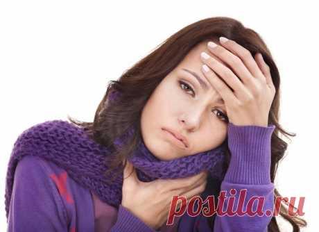Простые методы лечения при боли в горле