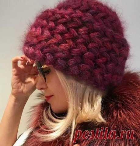 Модные вязаные шапки для зимы 2021: стильные и необычные — По секрету всему свету